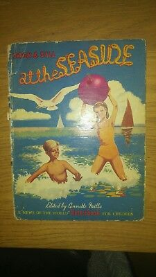 Vintage Books Jack and Jill at the Seaside & Jack and Jill's Farmyard Friends