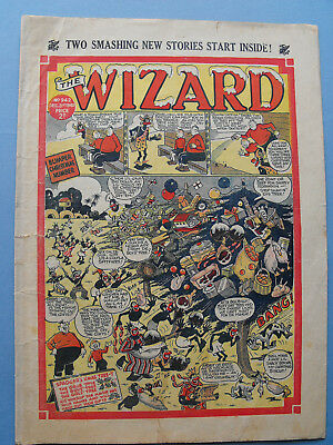 War Time Christmas Issue of The WIZARD Comic Dec 21st 1940
