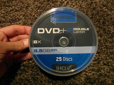 Intenso DVD+R DL Rohling / Disc 8,5GB 8 fach Speed - 8,5 GB Double Layer