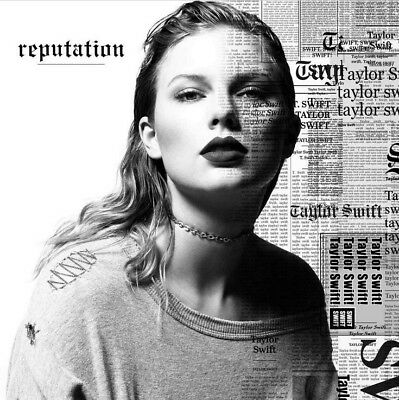 reputation [Slipcase] by Taylor Swift (CD, Nov-2017, Big Machine Records) NEW