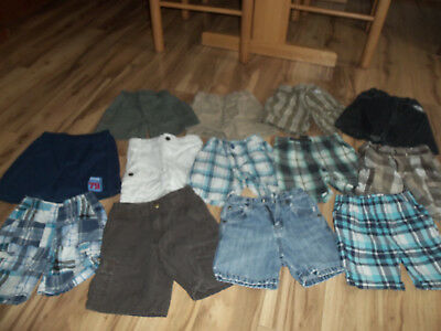 Boys Shorts Lot of 13 pair Size 2T