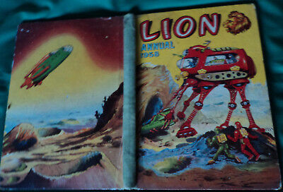 Lion Annual 1958. illustrated in Colour & Black & White. Hardback