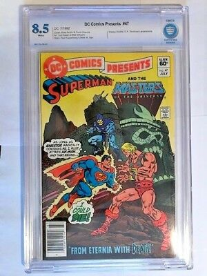 DC comics Presents #47 CBCS 8.5  News stand Variant