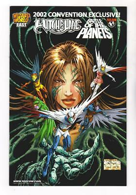 WITCHBLADE 55  BATTLE of the PLANETS (9.2) WIZARDWORLD EAST 2002 CON(SHIPS FREE*