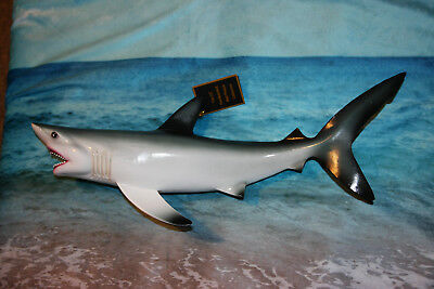 """Great White Shark Replica Wall Hanging, Ultra-realstic Anatomically Correct, 18"""""""