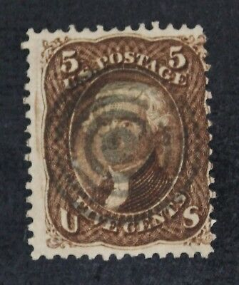 CKStamps: US Stamps Collection Scott#95 5c Jefferson Used Signed CV$850