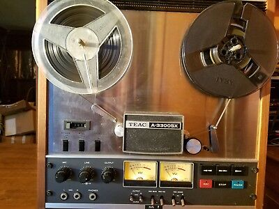 TEAC A-3300SX Reel to Reel Tape Player