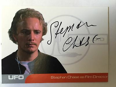 UFO AUTOGRAPH CARD Stephan Chase as Film Director  SC1 - Binder Autograph Card