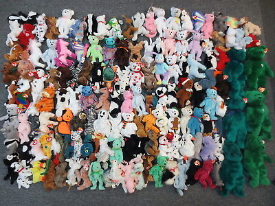 ~~143 Ty Beanie Babies & Buddies Collection Lot - Wholesale Bulk Sale Beanies