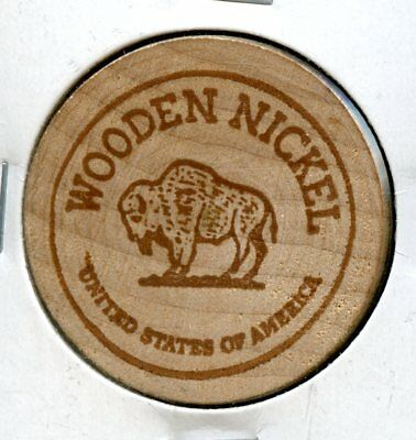 Pete's Place Bar & Grille United States Wooden Nickel AK150