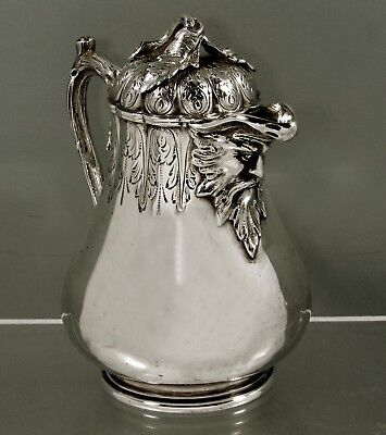 Tiffany Sterling Pitcher    c1854 - Hallmark Used Only 2 Years -