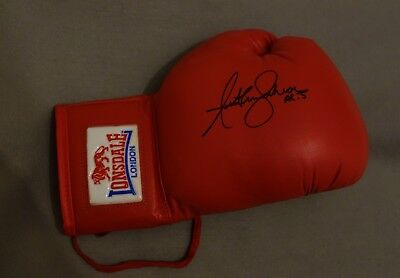 Anthony Joshua Signed Boxing Glove with Certificate of Authenticity