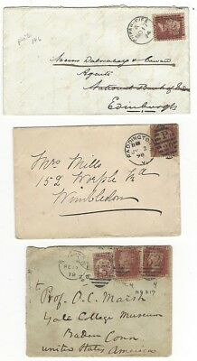 Great Britain Covers From The 1800's