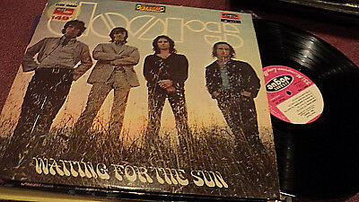 The Doors Waiting For The Sun Lp France Import Club-Mode Disques Vogue Loisirs