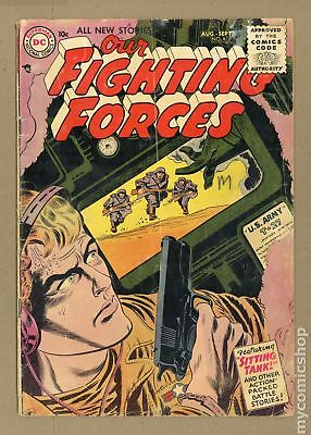 Our Fighting Forces #6 1955 GD 2.0