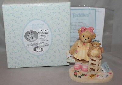 """Cherished Teddies Rosemary """"Colorful Days Are.."""" Figurine #811750 2001 By Enesco"""