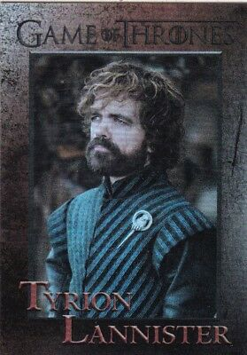 2018 Game Of Thrones Season 7 Tyrion Lannister Foil Trading Card #22