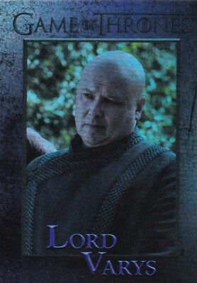 2018 Game Of Thrones Season 7 Lord Varys Foil Trading Card #36