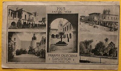Panama California Exposition Cover - The New Southern Hotel, San Diego, CA