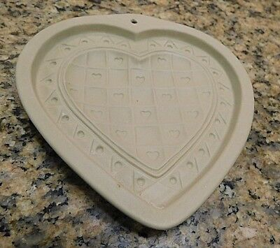 Brown Bag Mold 1993 Valentines Day Heart Cookie /Craft Mold