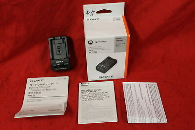 Sony BC-TRW W Series Battery Charger, New, #N1