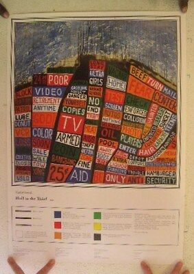 Radiohead Poster  Hail To The Thief Mint