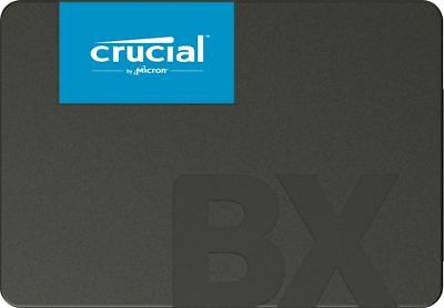 """240GB SSD Crucial BX500 Series 2.5"""" Laptop Replacement Solid State Drive 540MB/s"""