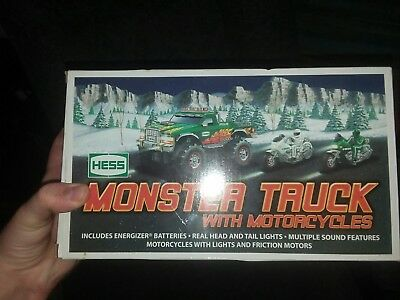 2007 Hess Monster Truck And Motorcycles