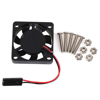 US 5pcs Brushless DC Cooling Fan 30x30x6mm 3006 11blade 5V 0.15A 2pin Connector