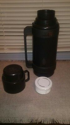 Dunkin Donuts Coffee Thermos Limited Edition 1 Liter-Model 32-100 Tall-ON THE GO