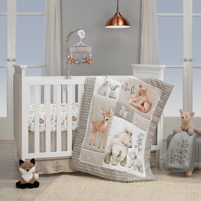 Lambs & Ivy Painted Forest Baby Nursery Crib Bedding CHOOSE FROM 4 5 6 PC Set