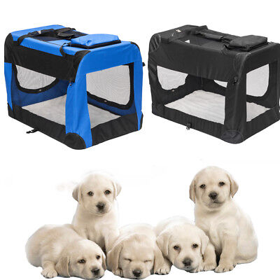 S M L XL XXL XXXL Pet Dog Crate Pet Carrier Kennel Play Cage Crates House Sleep