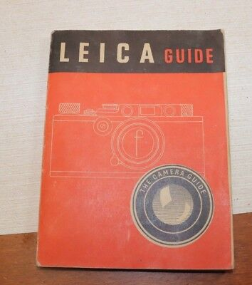 Leica Guide, The Camera Guide by W.D.Emanuel 1953, soft cover