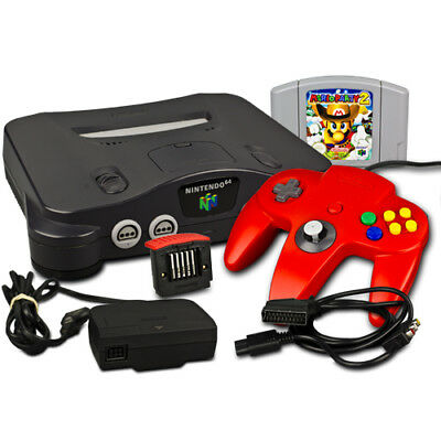 Nintendo 64 - N64 Console+Controller+Expansion Pack + Mario Party 2