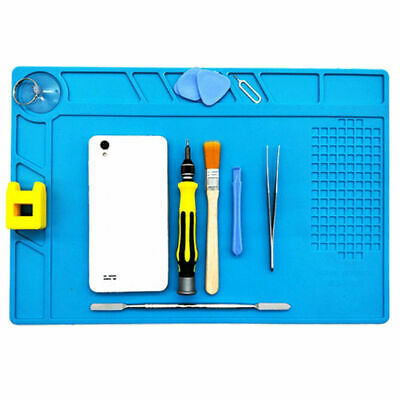 Heat Resistant Silicone Pad Heat Insulation Desk Mat Soldering Repair Station