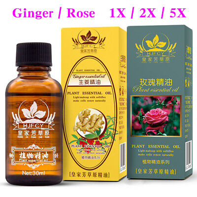 100% PURE Plant Therapy Lymphatic Drainage Ginger Oil | US Free Shipping |