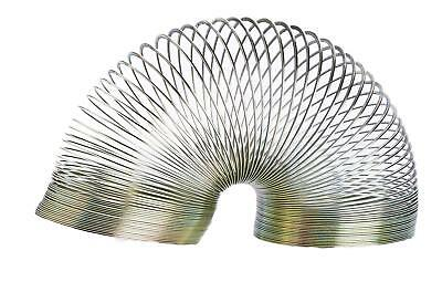 Magic 6cm Springy Metal Slinky Childrens Retro Novelty Game Toy Assorted Colours