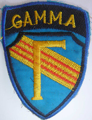 OP GAMMA - CIA, USSF PATCH - Terminate With Extreme Prejudice - Vietnam War - B