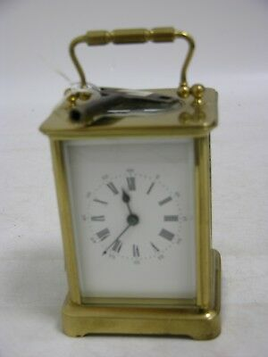 Vintage Carriage Clock - Mechanical With Key (FEB138)