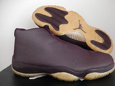 Nike Air Jordan Future Footscape Deep Burgundy-Gold Sz 9.5  656503-670  af9add0fc
