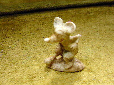 Dog Animal Figurine Length 0.9 Inch Age 1890 Feve Excavated Limbach Art 8475 For Sale Crafts