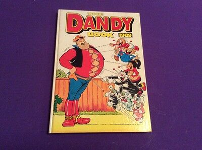 """BOOK  """"THE DANDY BOOK"""". 1989.  great for collectors"""