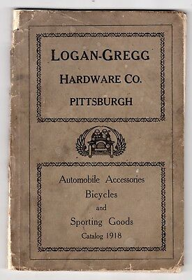 1918 Catalog of Automobile Accessories & Parts