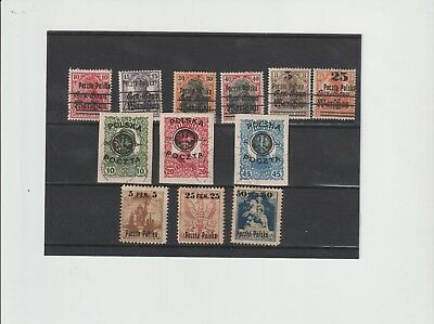 Poland, an interesting range of earlies including provionals (S11)