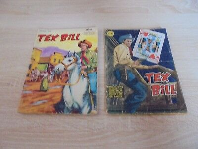 Lot de 2 Tex Bill n° 10 et 14 artima