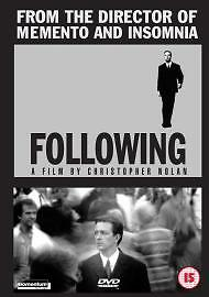 Following / brand new and sealed/region 2 uk dvd/cert 15 /c.nolan /