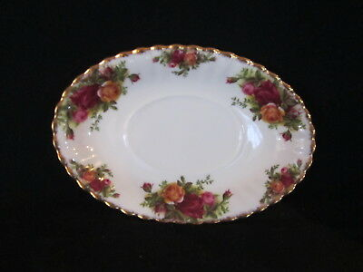 Royal Albert - OLD COUNTRY ROSES - Gravy Stand Only - Made In England
