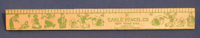 "Vintage Popeye 8"" Ruler by Eagle Pencil Co. Olive Oyl Sweet Pea Brutus Wimpy"