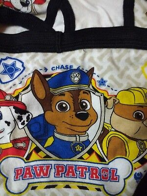 Chase, Rocky, Rubble! Paw Patrol New Boys Briefs 2T-3T Pack of 10