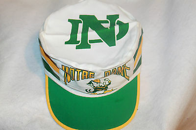 Notre Dame Fighting Irish NCAA Painters Cap Hat  Vintage Rare Old School